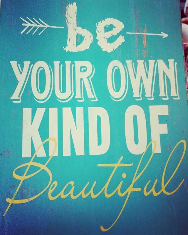 Be your own kind of #beautiful. #Always. #quote #qotd #Sunday #inspiration #beauty #life #FloraApothecary