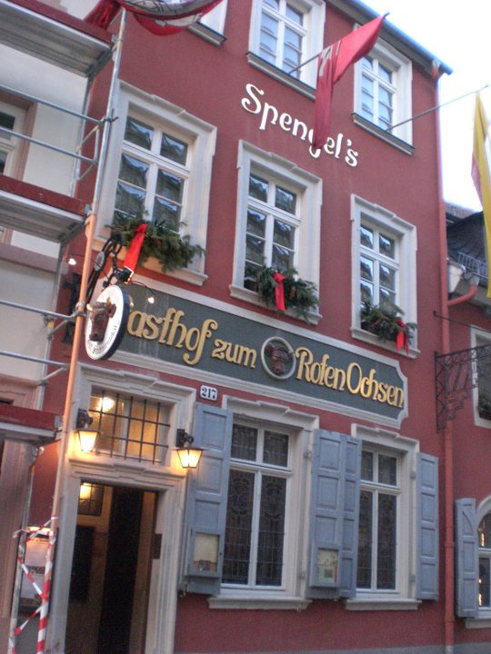 The Red Ox, Heidelberg, Germany (Jan 2011)