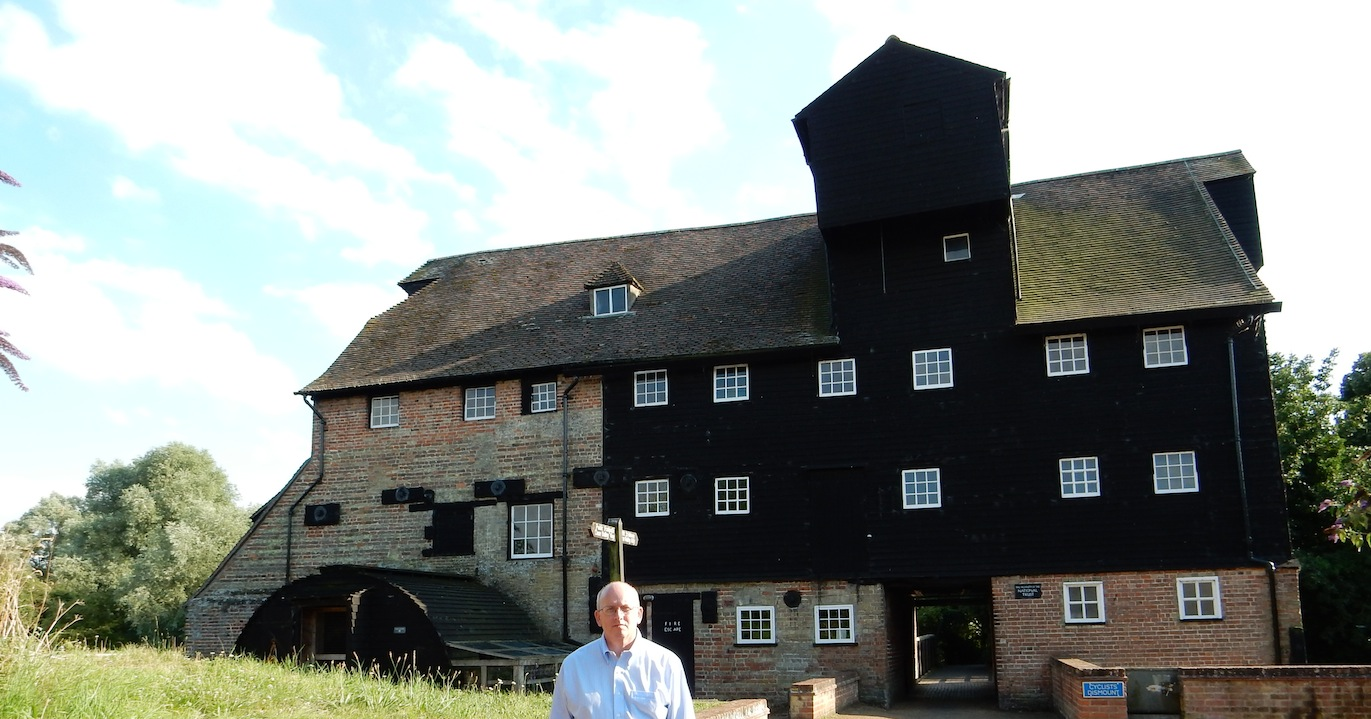 Houghton Mill, Houghton, UK (July 2014)