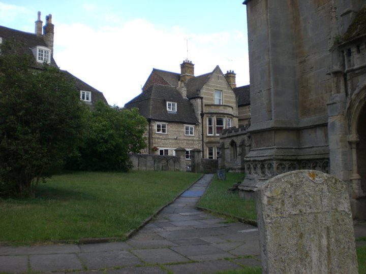 The Crown Hotel, from All Saints, Stamford, UK (2011)