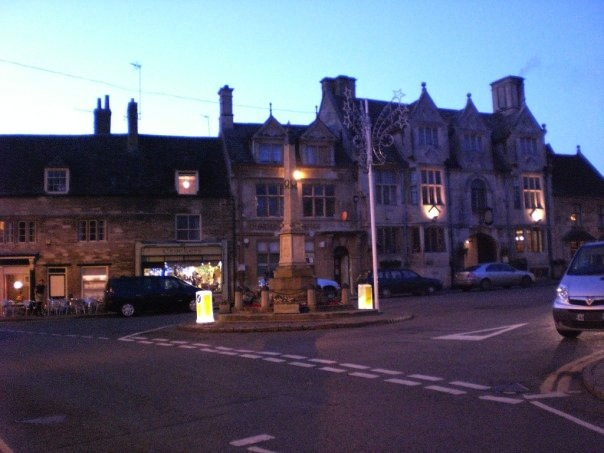 Oundle, UK (early evening, Feb 2011)