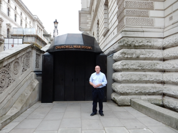 Churchill War Rooms, King Charles St., London, UK (Jul 2014)