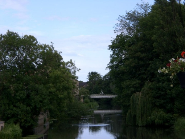 Footbridge over the River Welland, Stamford, UK (2011)