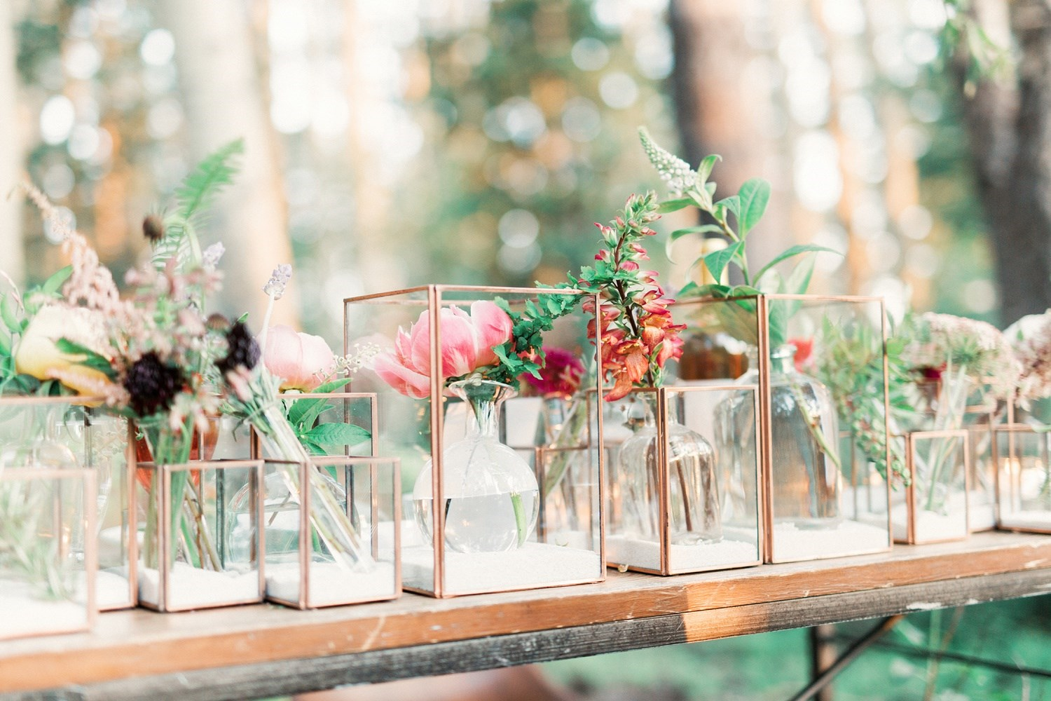 wedding centerpiece by bloomers