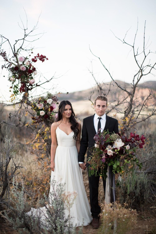 zion wedding inspiration