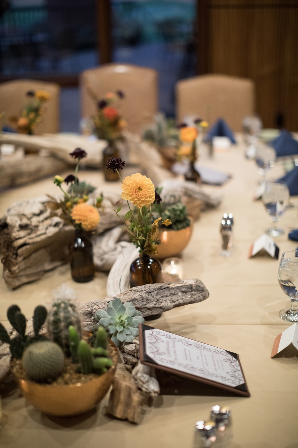 zion inspired tablescape
