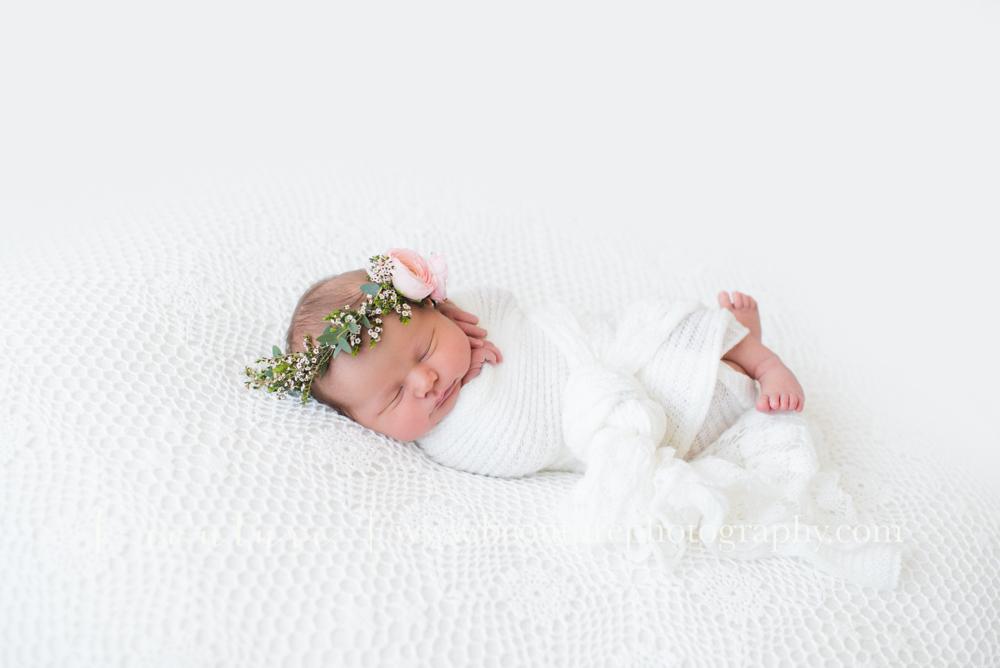 newborn floral crown