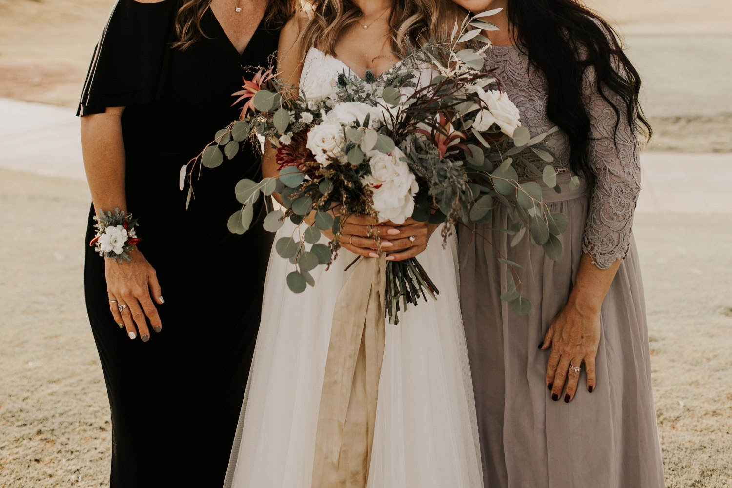 mother of the bride flowers