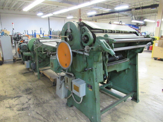 """Beck 45"""" Sheeter with Roll Stand"""