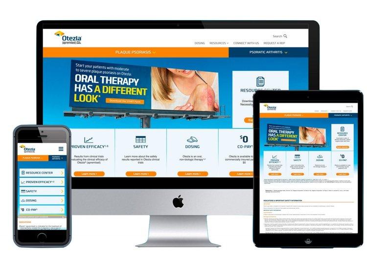 OTEZLA Pro Website