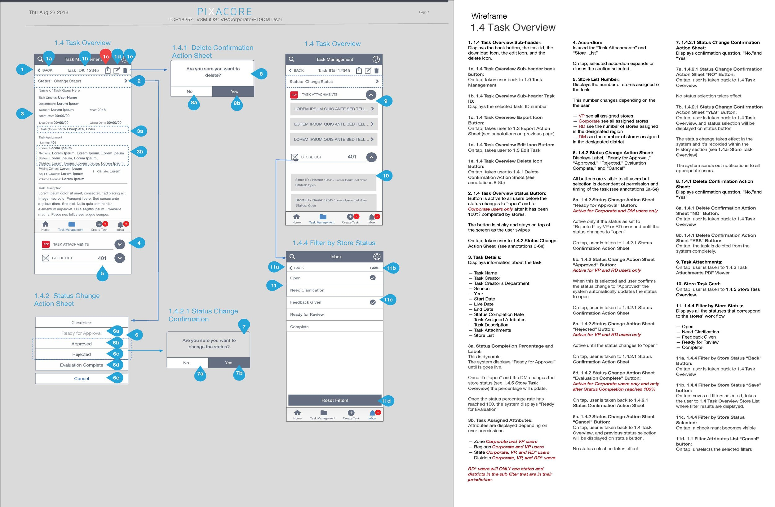 TCP Wireframes