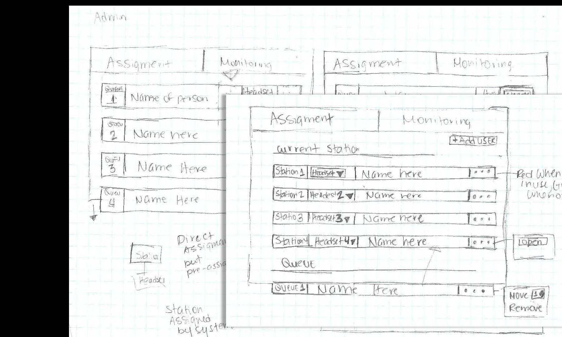 Admin Sketch