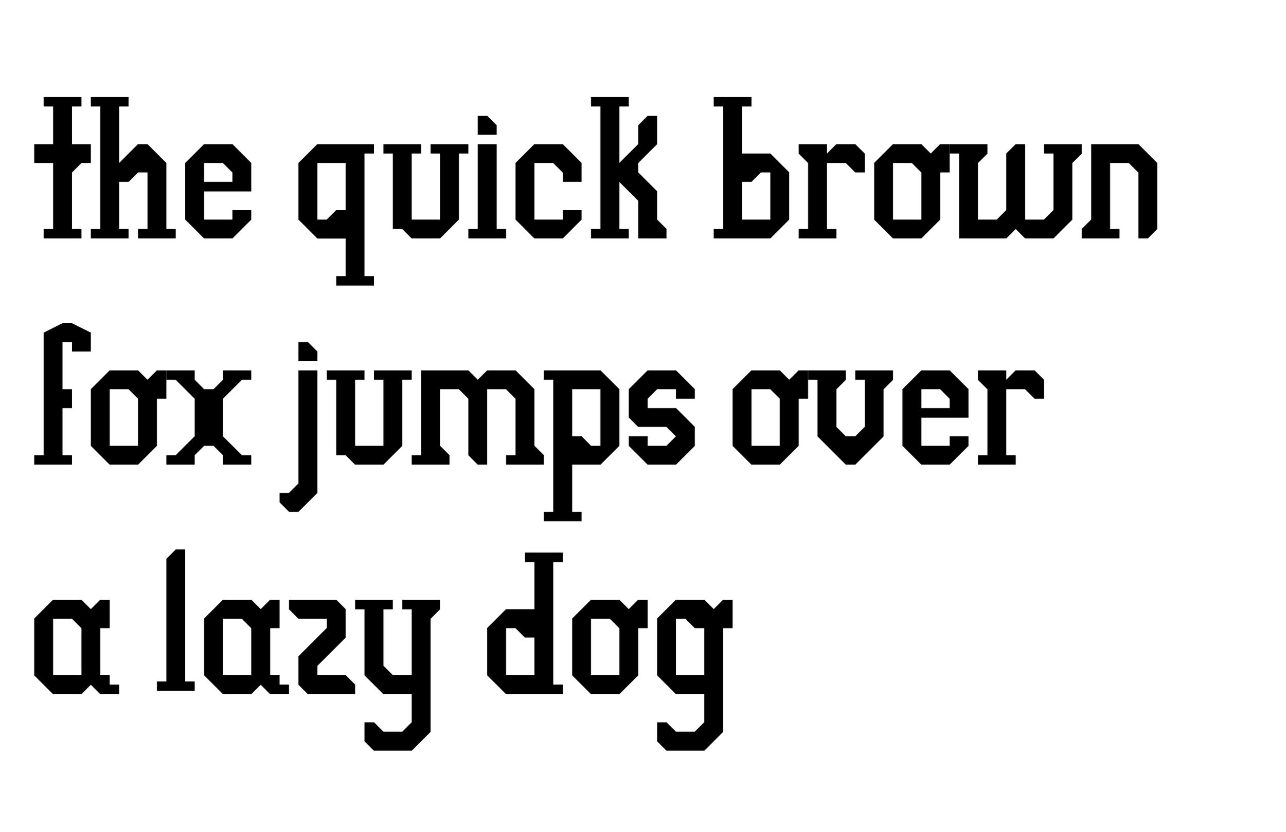 typeface-design-pangram
