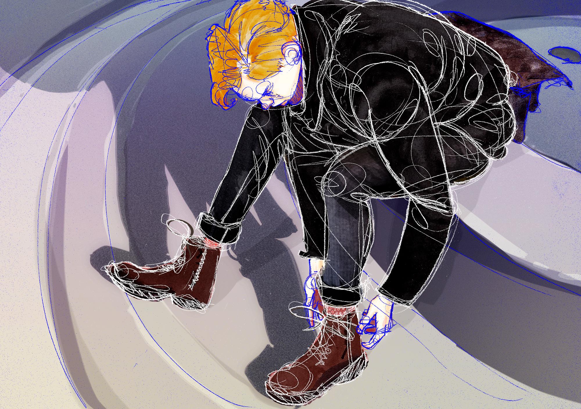 Forgotten Black Suit