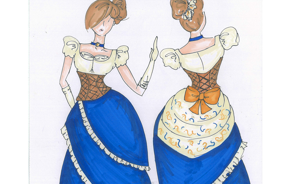 Viennese Waltz Sketch - Designed for a duet with Aurora North and Faux Pas le Fae