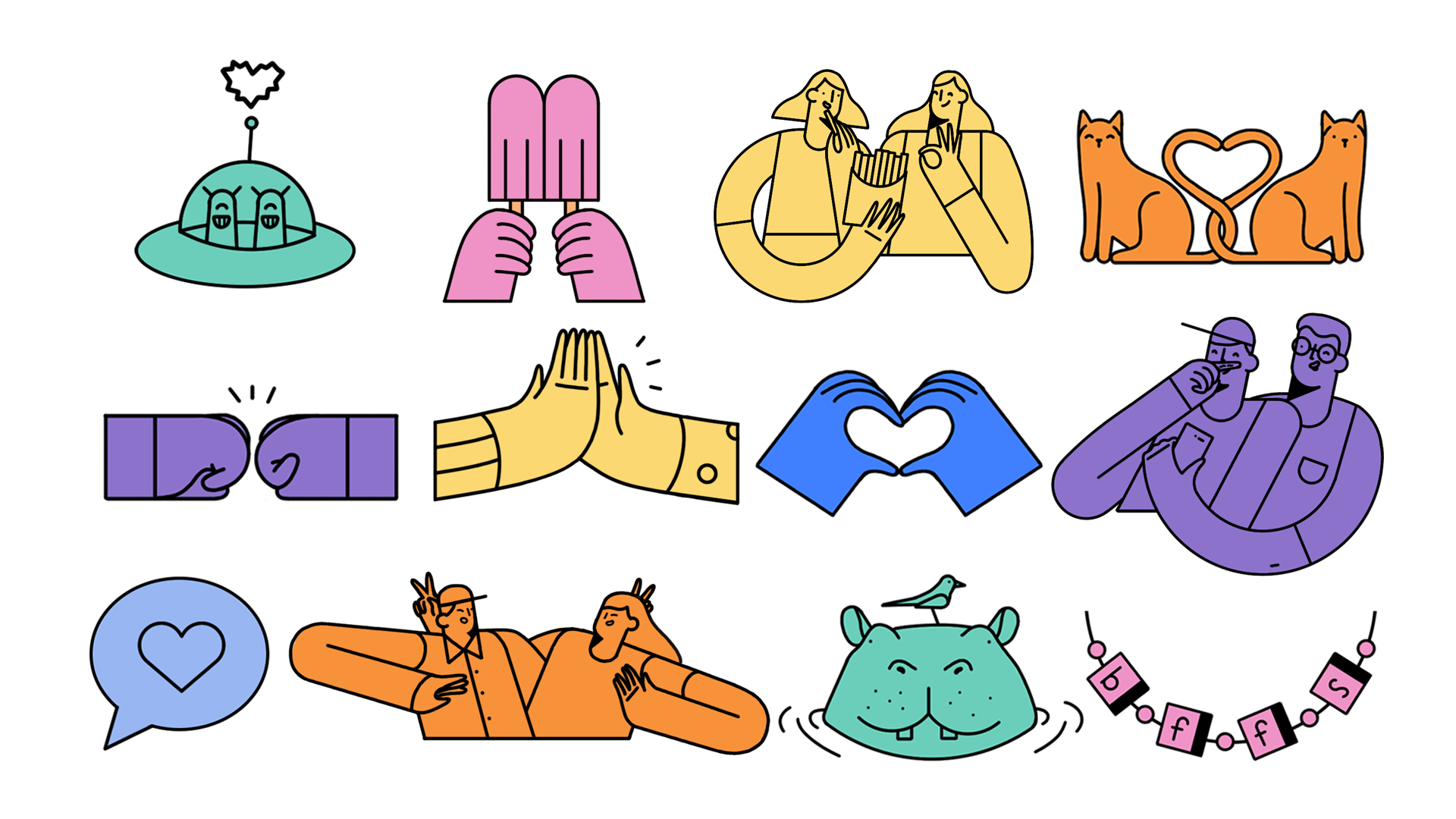 Friends Day Stickers_megan_v05.png