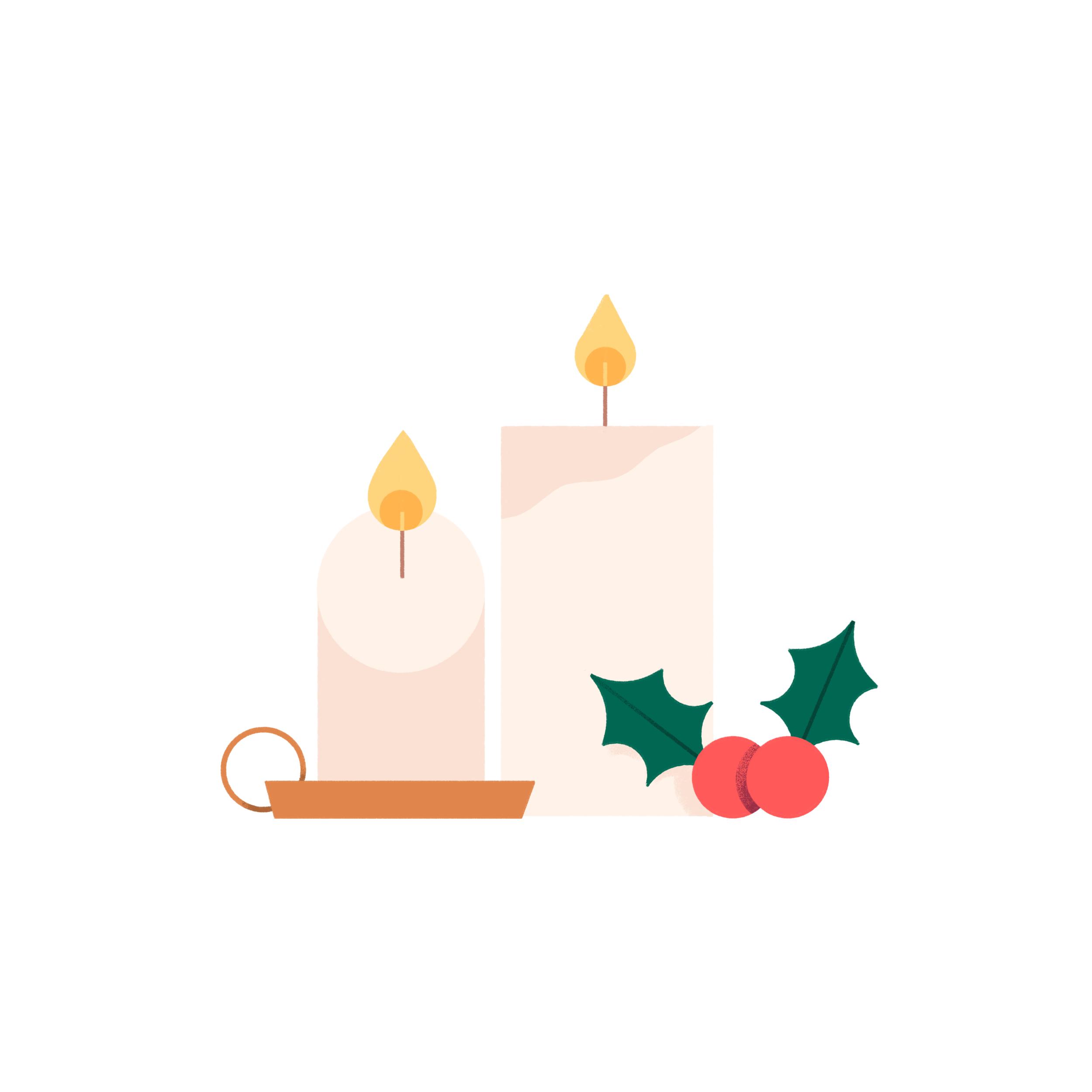 Megan Pelto _ Cozy Club _ Christmas Candles _ 01.png