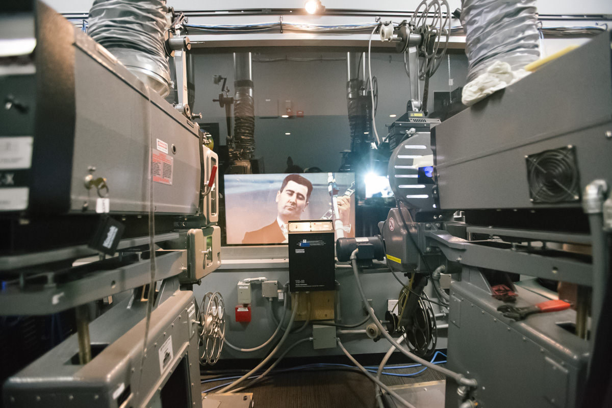 SIFF PROJECTIONIST