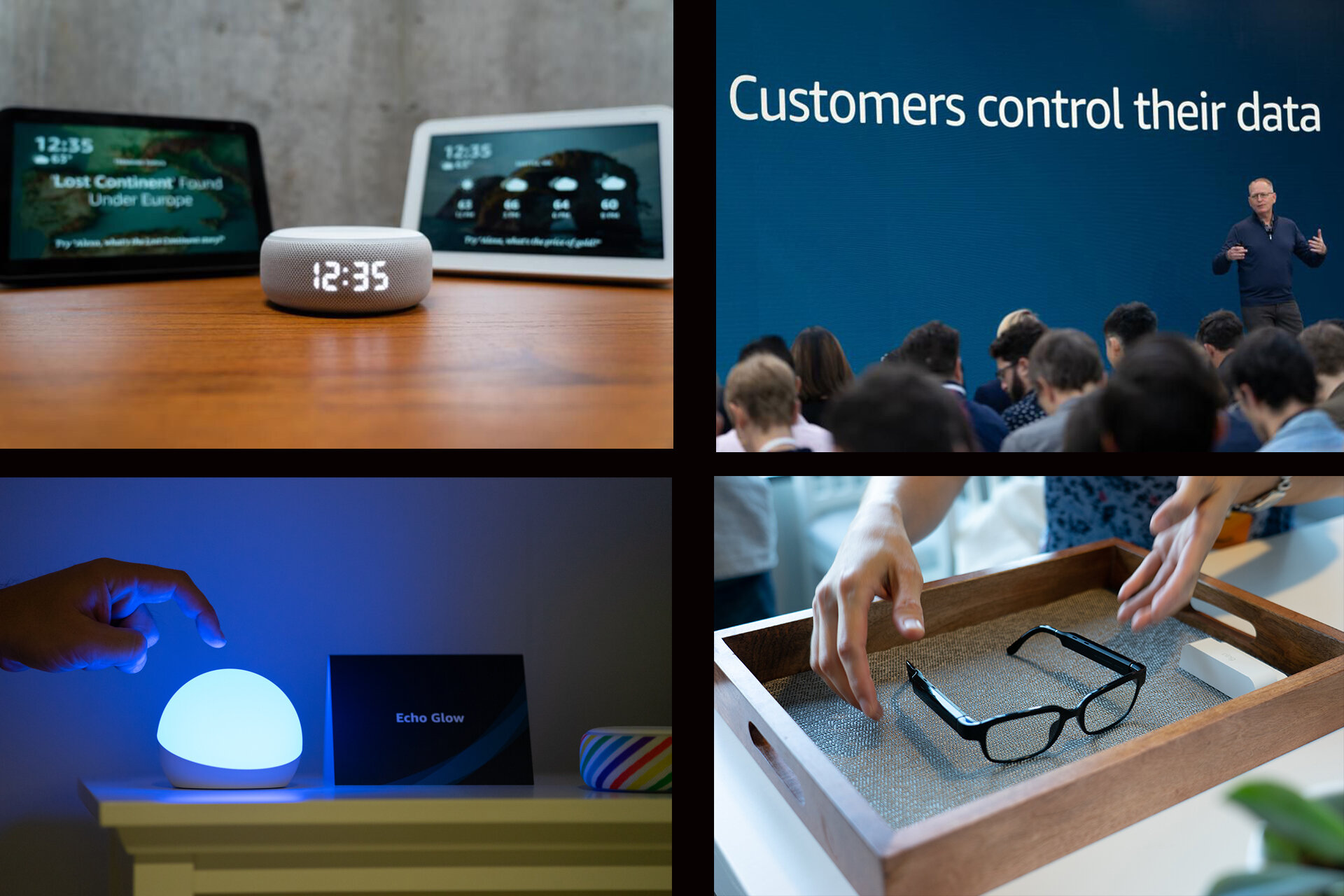 New products announced by Amazon on Sept. 25, 2019 in Seattle, Wa