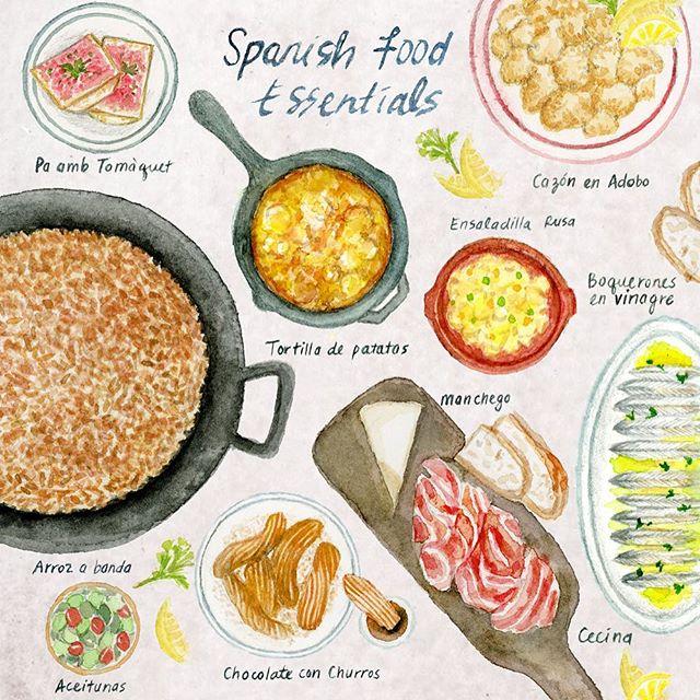 My Spanish Food Essentials