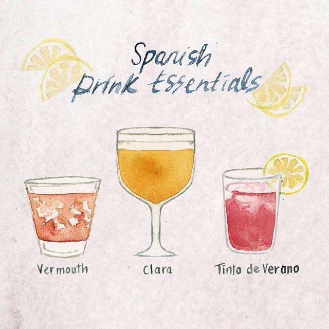 My Spanish Drink List