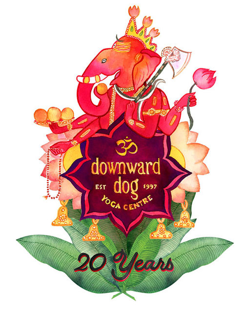 Downward Dog Yoga 20th Anniversary