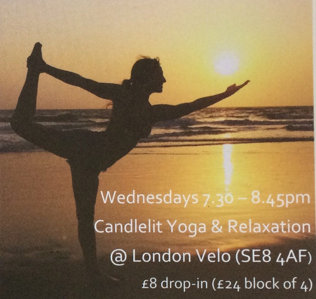 New Yoga & Relaxation sessions at London Velo. www.growyouwingsyoga.com