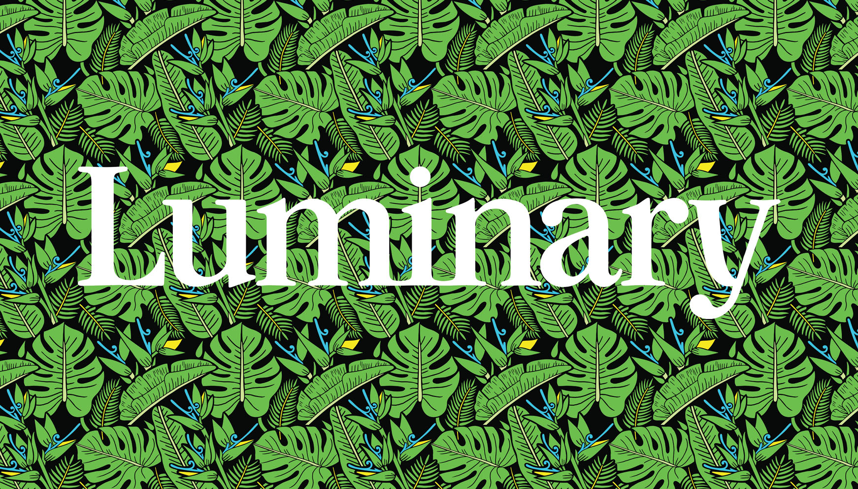 One of three custom patterns (with corresponding icons) created for the podcast app  Luminary    | AD: Benjamin Running
