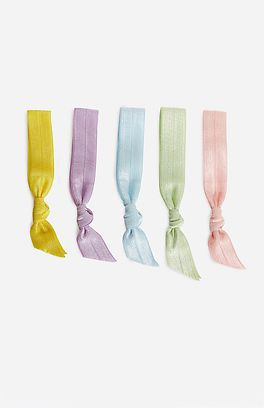 EMI JAY PASTEL HAIR TIE COLLECTION