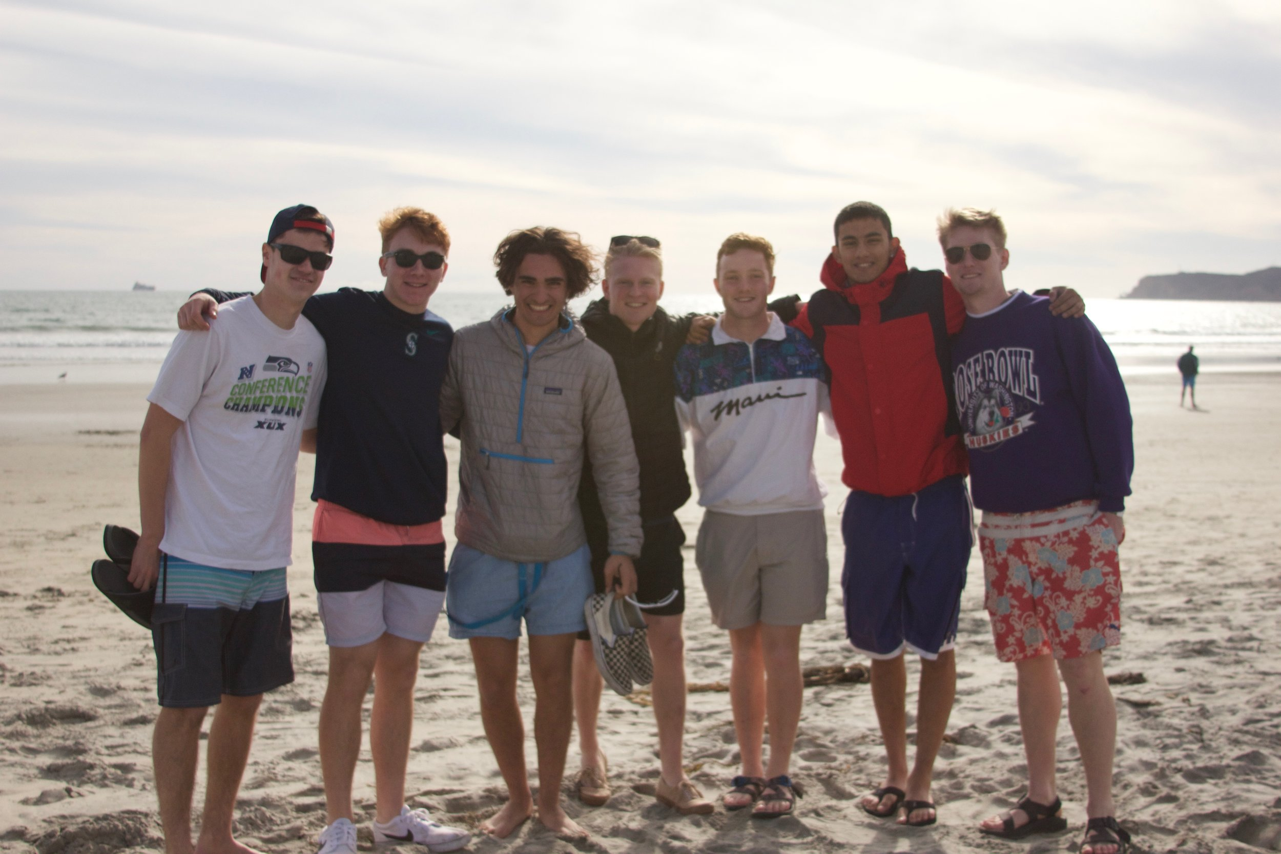 Spring Break Road Trip - For the past several years the newest PC has completed a road trip from Seattle to San Diego and back stopping at brothers houses along the way. This past year 22 out of the 29 freshmen participated.