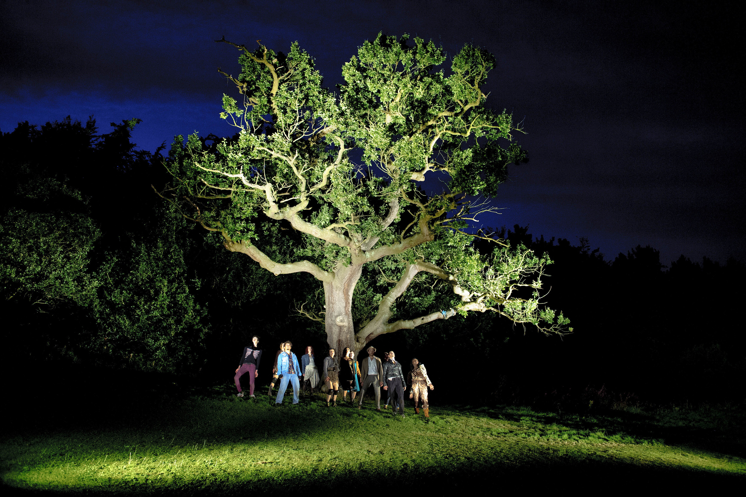 BRANCHES: THE NATURE OF CRISIS , Digital Producer  Working with National Theatre Wales and German Choreographer, Constanza Macras, this show connected audiences in Cardiff City Centre with performers in a Forest in Flintshire. Delivered in collaboration with BBC Cymru.