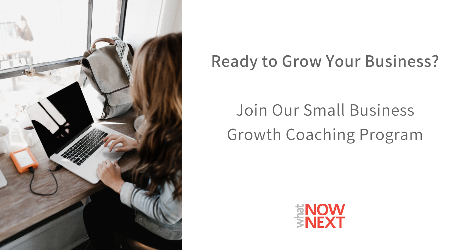 Join Our Small Business Coaching Program