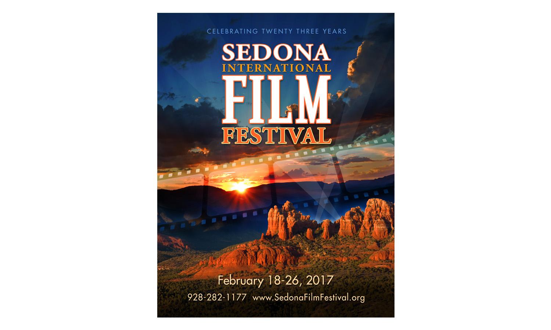 Sedona Film Festival Poster design 2017