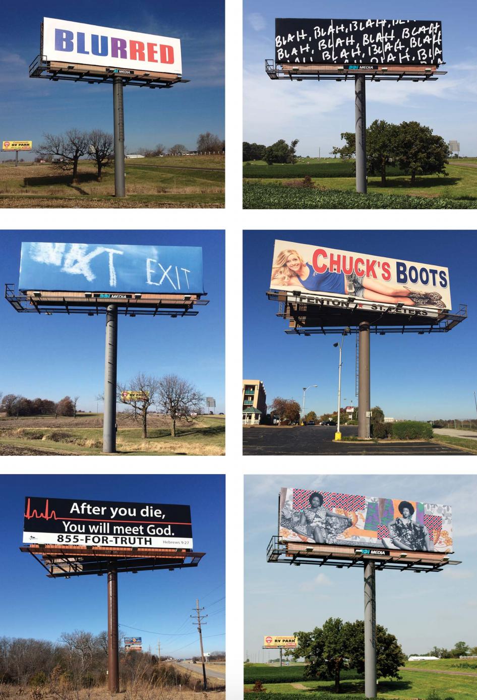 I-70 Sign Show