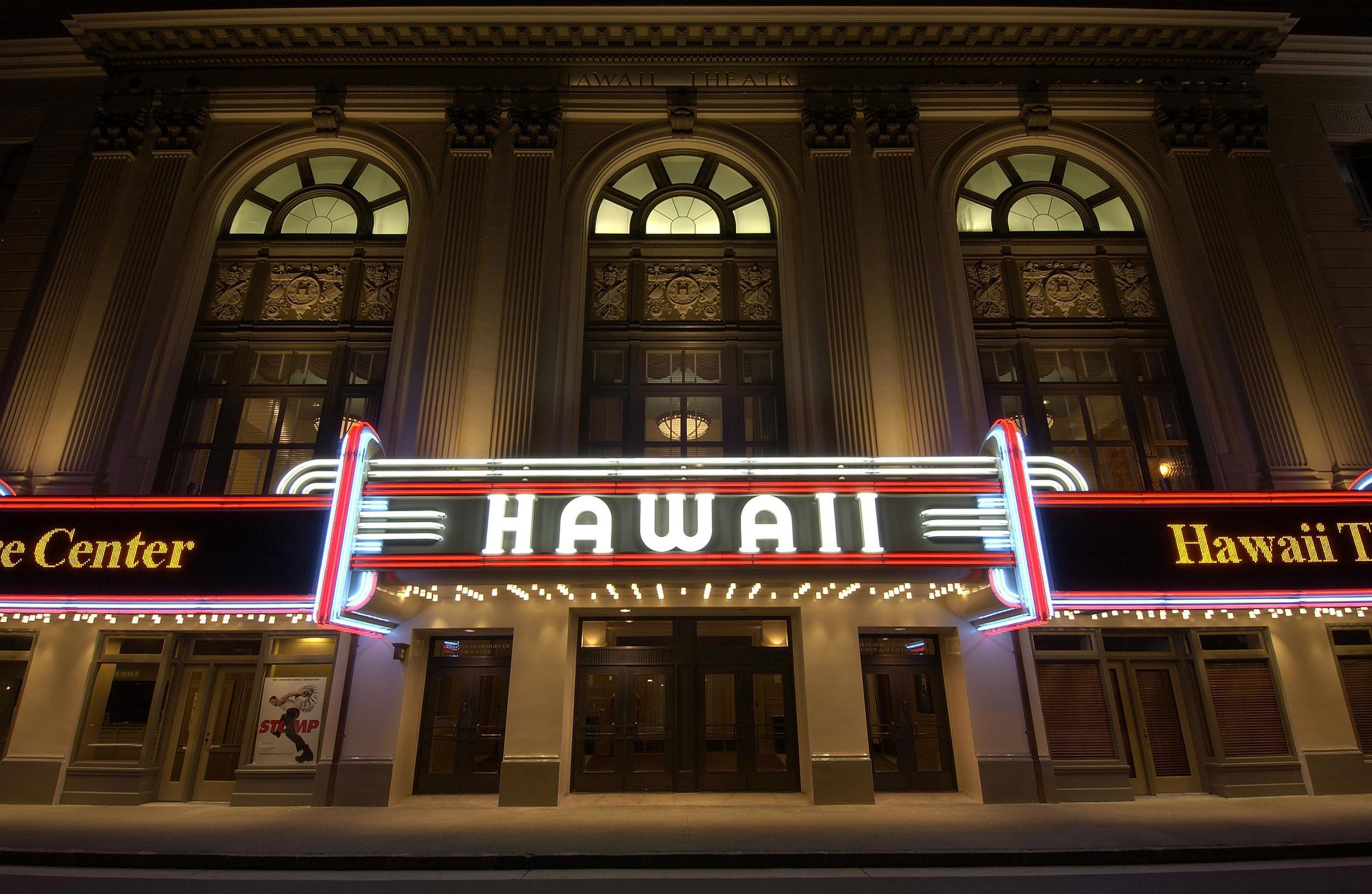Hawaii Theatre - Bethel Street