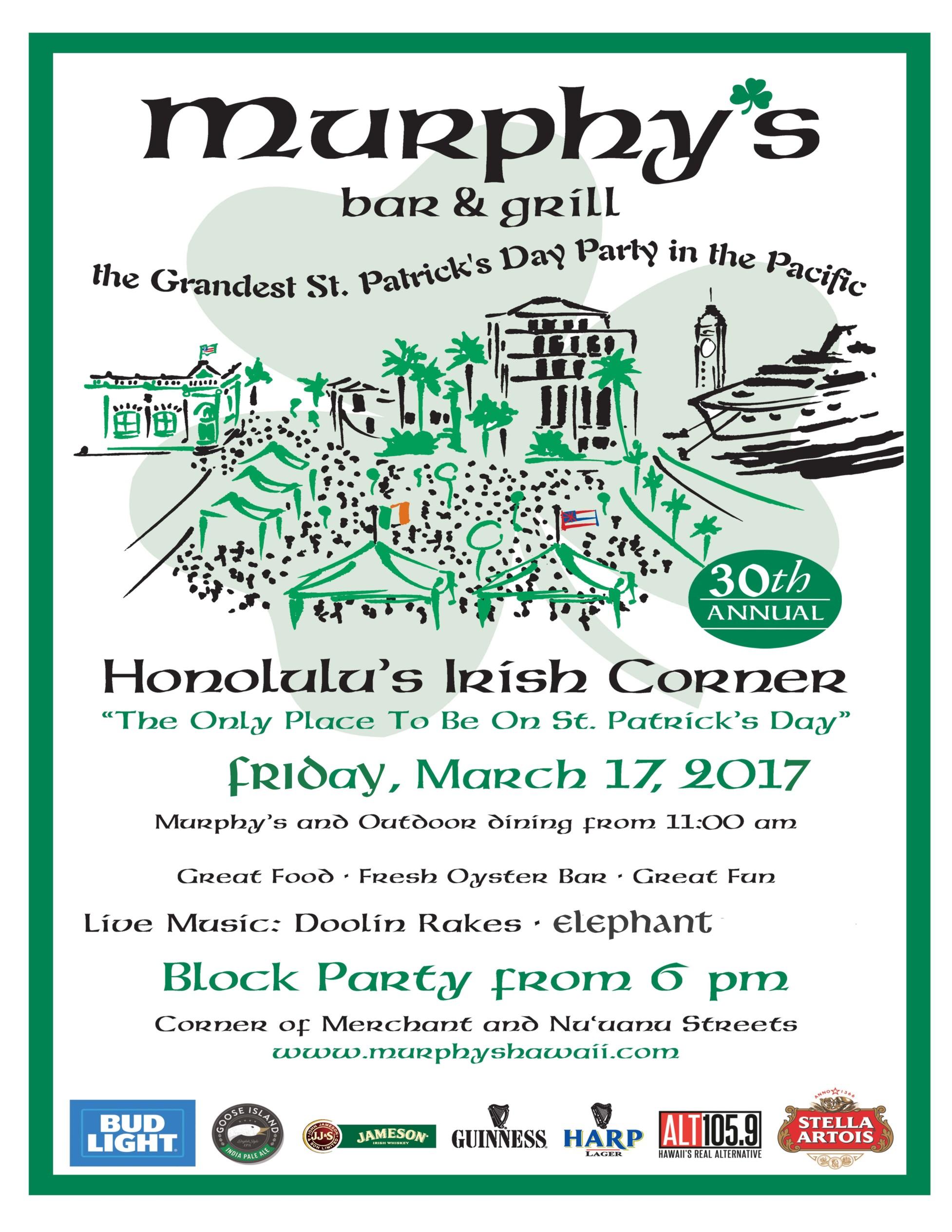 CHINATOWNNOW St. Patricks Day Block Party