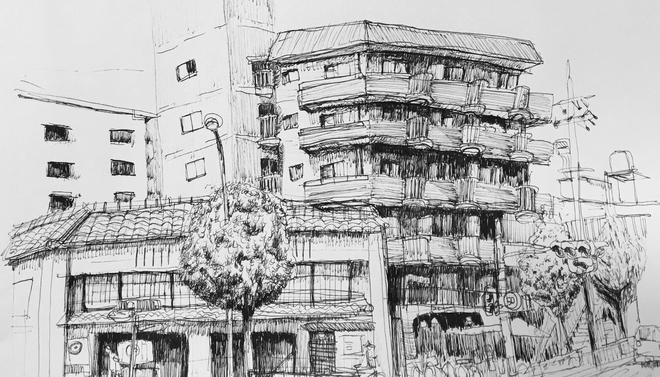 TAYLOR OISHI   the boy can draw.