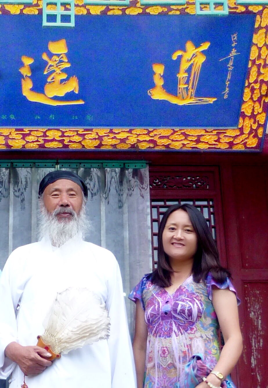Master Ren Farong with Chiyan