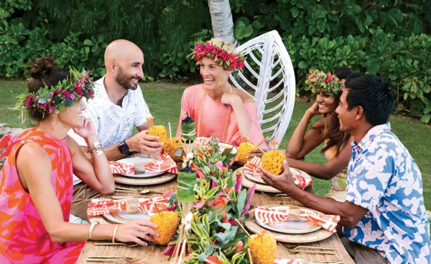 Mrs. Lilien's Tropical Thanksgiving Luau! - VIA COASTAL LIVING
