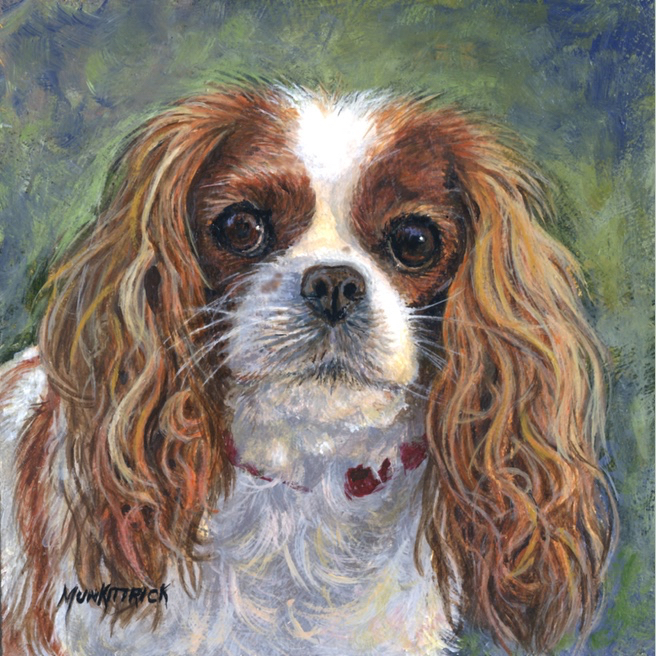 Charlie      8 x 8     Oil     Commission