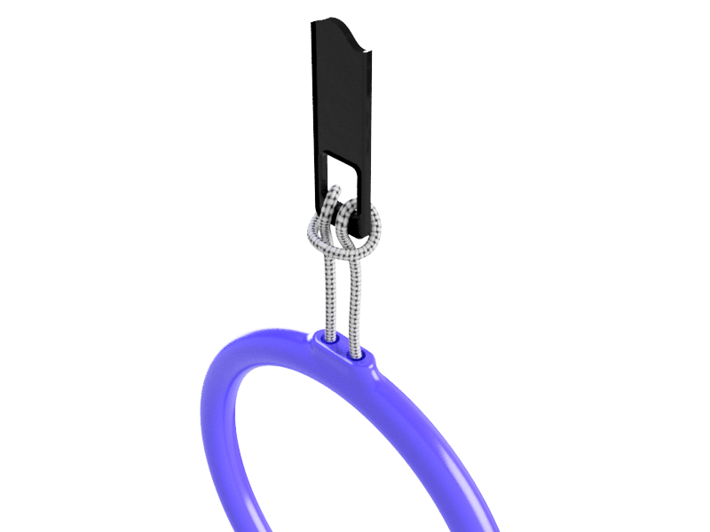Zipper Pulls - Also available in our store, easy to grasp zipper pulls in a variety of styles and sizes. These can be added to nearly any zipper and benefit those with gloves, dexterity issues, or simply want a unique look.