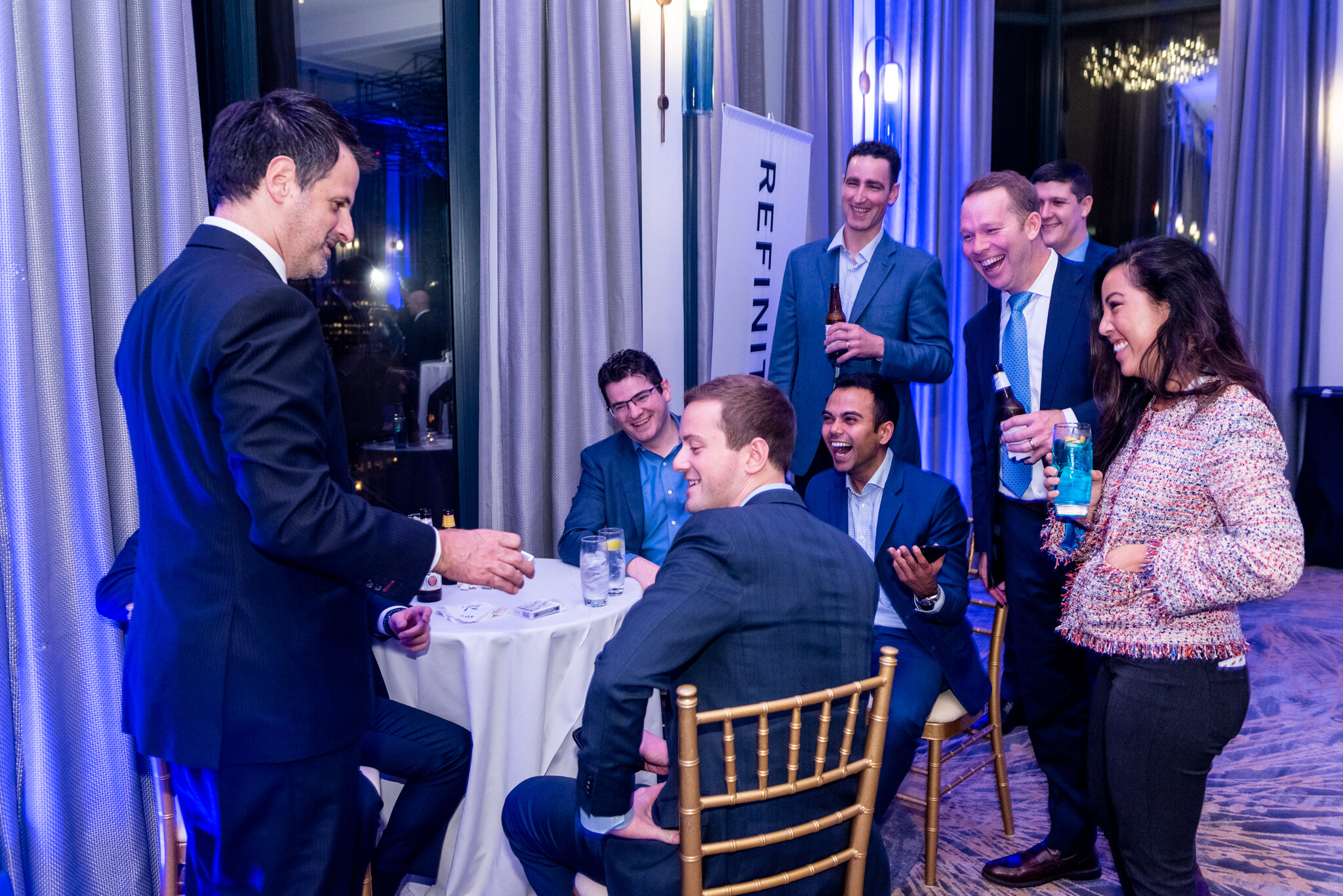 Extend Your Hospitality - Receptions and networking events should be relaxed, easy, and fun!Dennis delivers that personal touch to ensure your attendees know they're valued and appreciated while creating indelible memories.