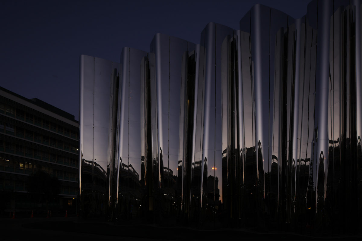 Len Lye Centre  July 2015 Architects: PATTERSONS