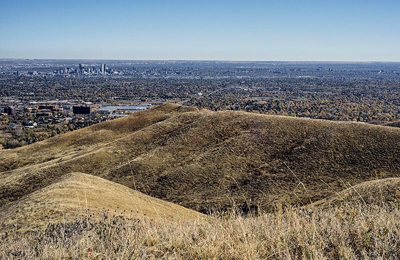 Denver Seen From the Green Mountain