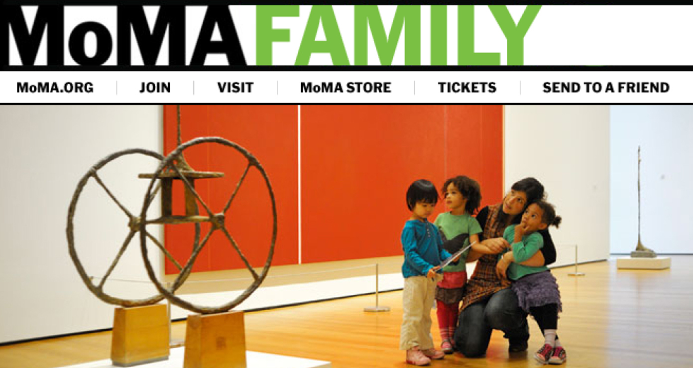 MoMA Family Newsletter