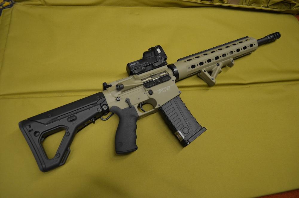 Custom Varmint Class Rifle