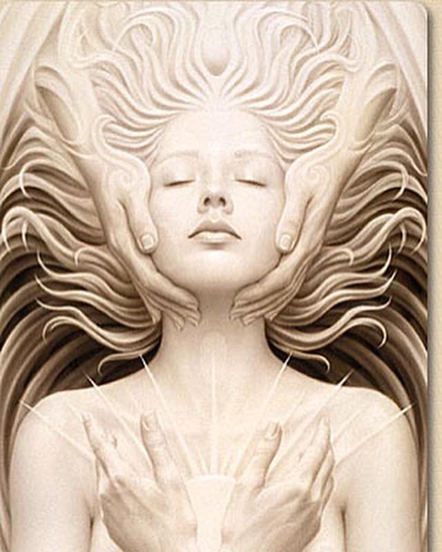"""""""Unio Mystica"""" (Detail) by Andrew Gonzalez"""