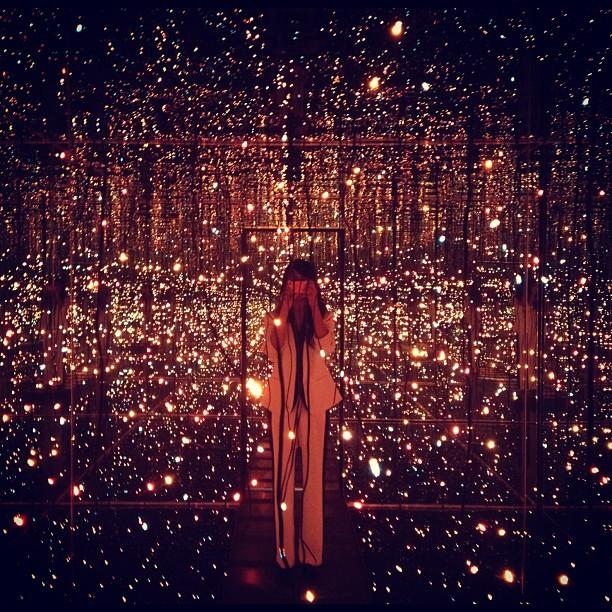 Infinity Room by Yayoi Kusama