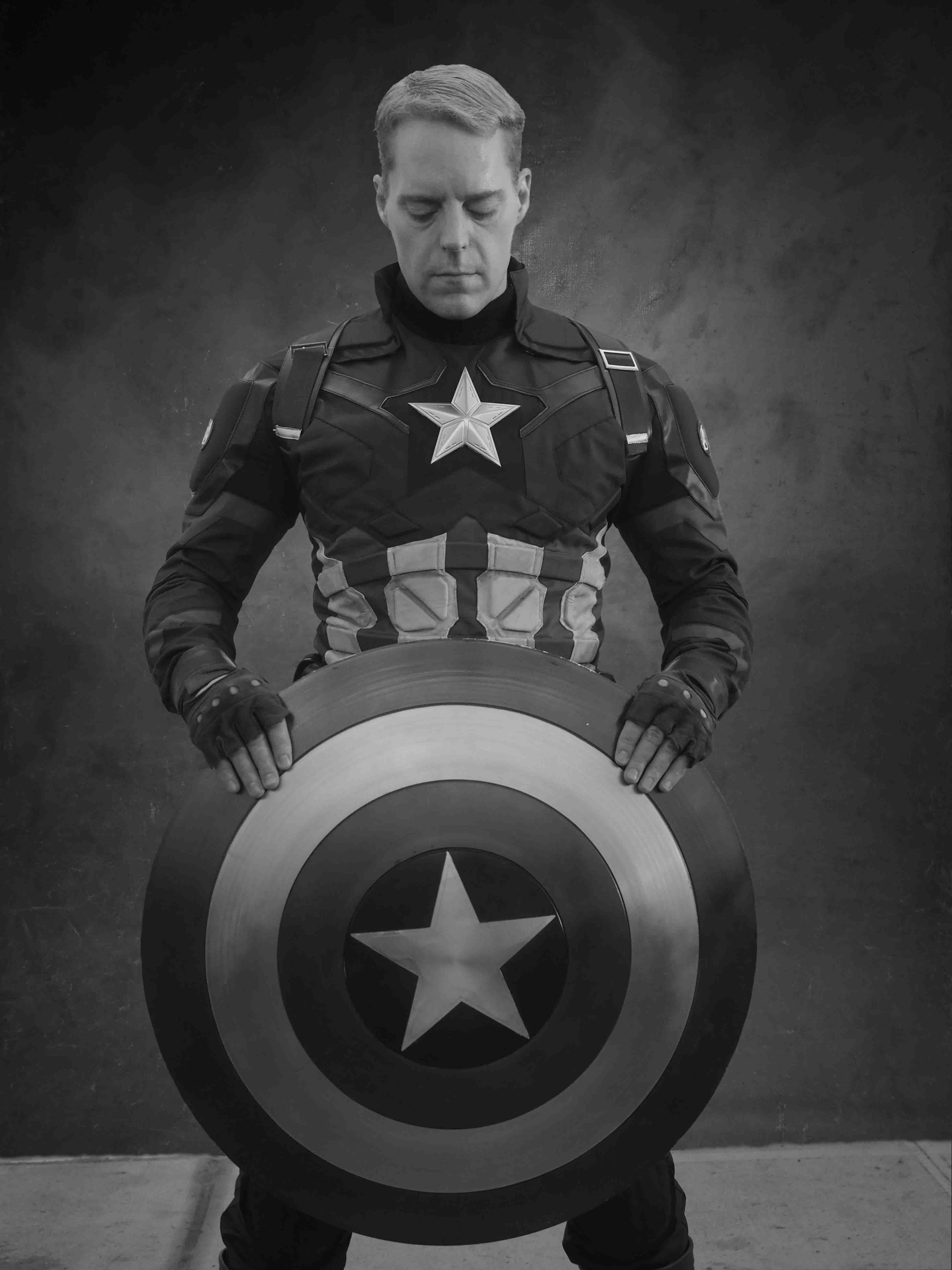 Captain America - Inspired by Captain America & The Justice League by Marvel ComicsCOSPLAY BY | Vorian - Founder & Chairman of