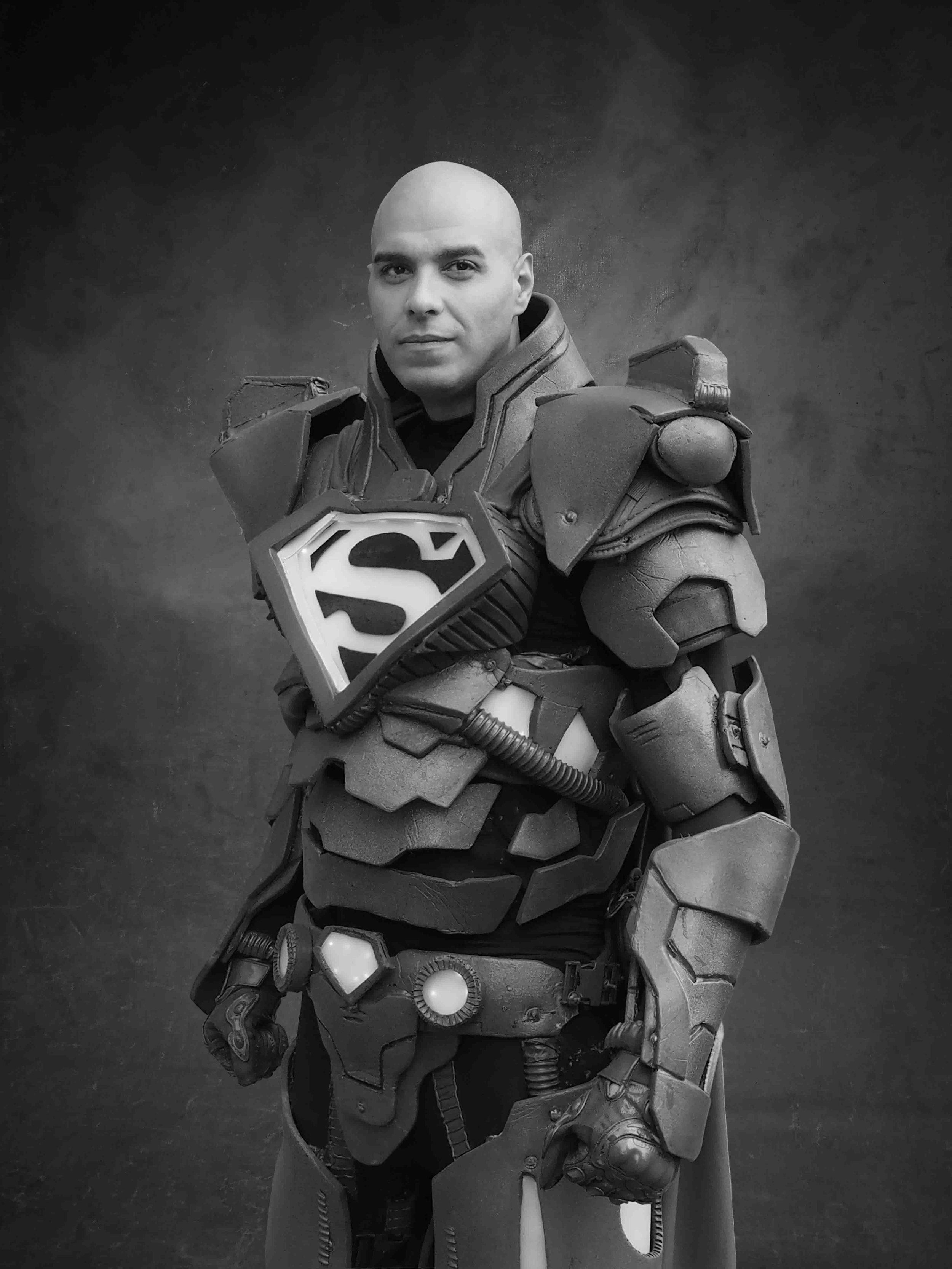 Super Lex Luthor - Inspired by DC Comics Superman SeriesAlexander Joseph